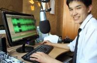 Выпускник школы Kloop.kg Азат Рузиев, который в эти дни учится в США по обменной программе.