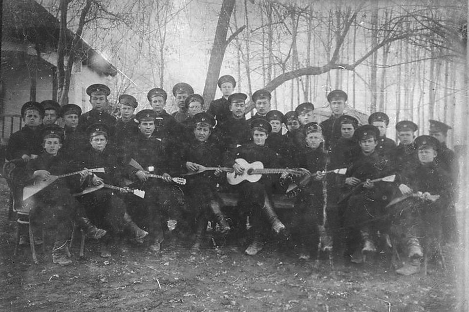 1910 год. Сельскохозяйственная школа, Пишпек.