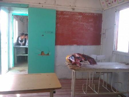 Единственный кабинет школы.