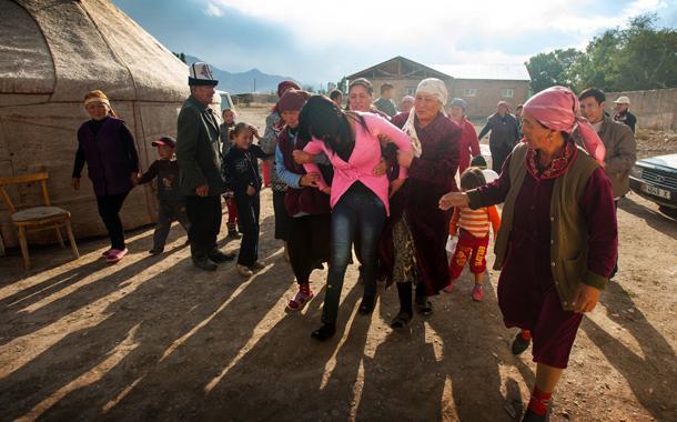 Кража невесты в Средней Азии