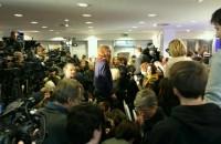 Пресс-конференция Ходорковского собрала более 300 журналистов.
