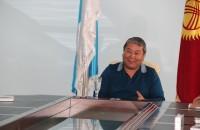 Мэр Оша Мелис Мырзакматов незадолго до снятия с должности.