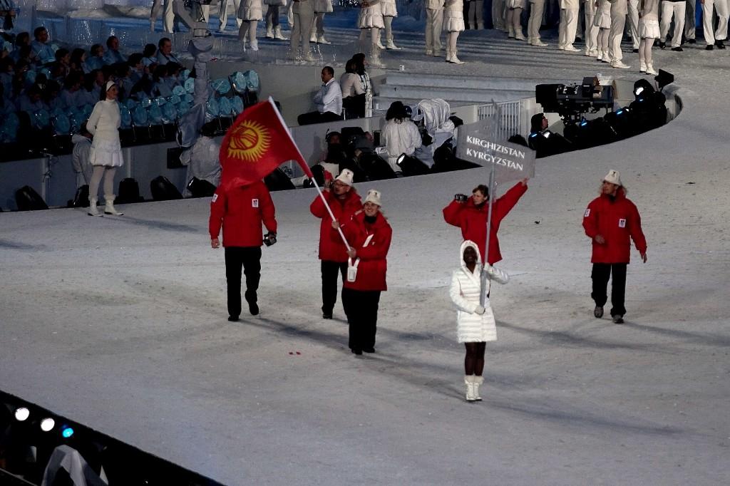 Единственный спортсмен из Кыргызстана Дмитрий Трелевский выступал также на Олимпиаде-2010 в Ванкувере.