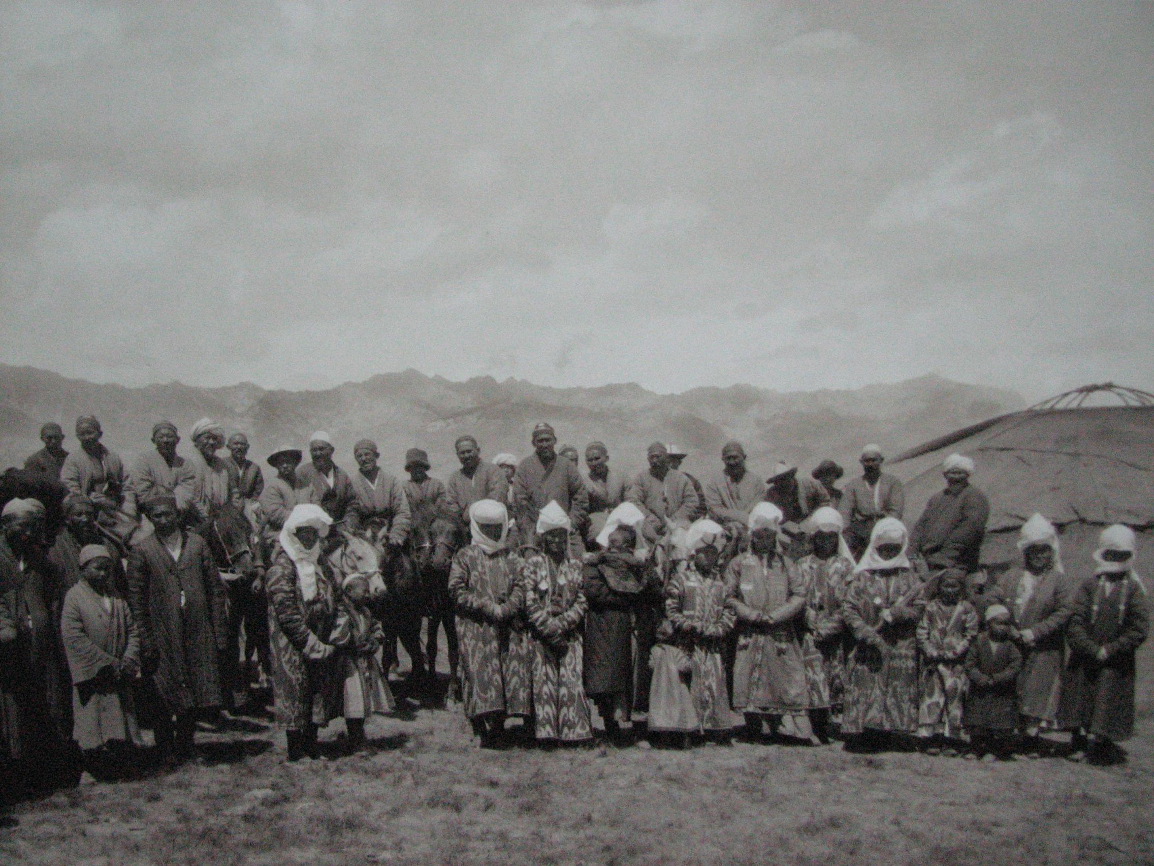 Алайские кыргызы. Фото: Карл Густав Маннергейм