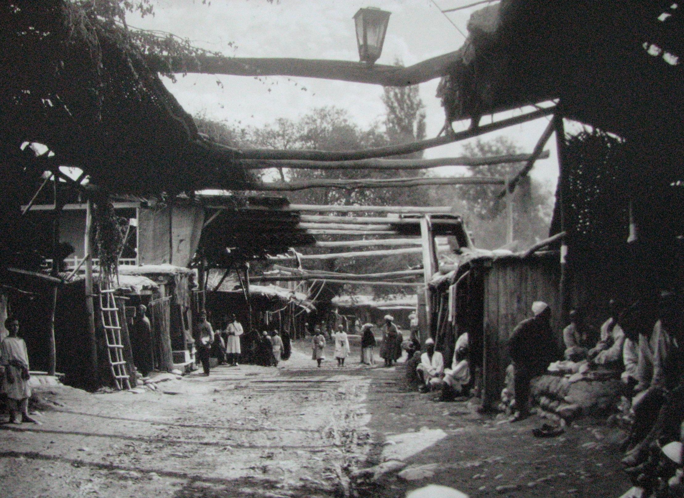 Базар в Оше. Фото: Карл Густав Маннергейм