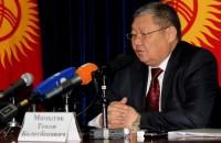 Переговоры с Таджикистаном ведёт вице-премьер Токон Мамытов. Фото: Мираида Жапарова