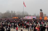 Празднование Нооруза в Бишкеке, 21 марта 2014 года. Фото: Толгонай Умуралиева