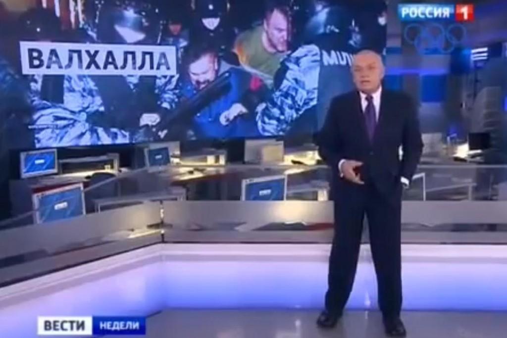 Российское телевидение популярно в Кыргызстане.