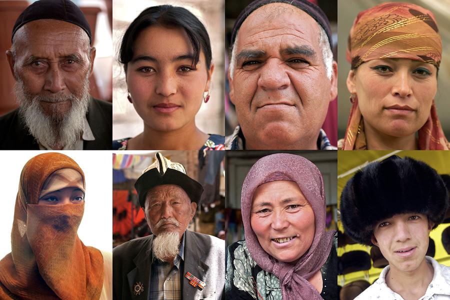 На Ошский базар приходят кыргызы, узбеки, таджики, русские, китайцы, цыгане и представители многих других национальностей.