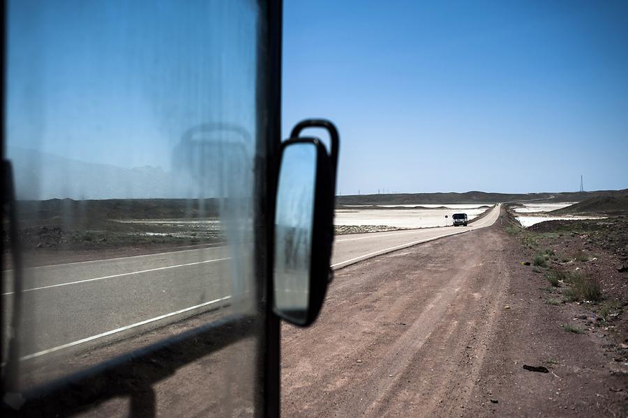 По словам водителя, отрезок пути по территории Казахстана – один из самых коррумпированных.