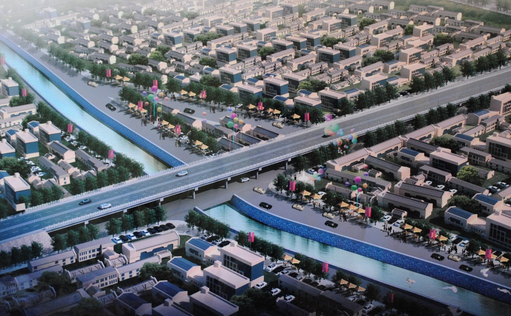 Проект эстакадного моста в Оше.
