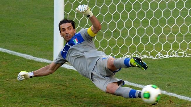 Бессменный вратарь сборной Италии Джанлуиджи Буффон.