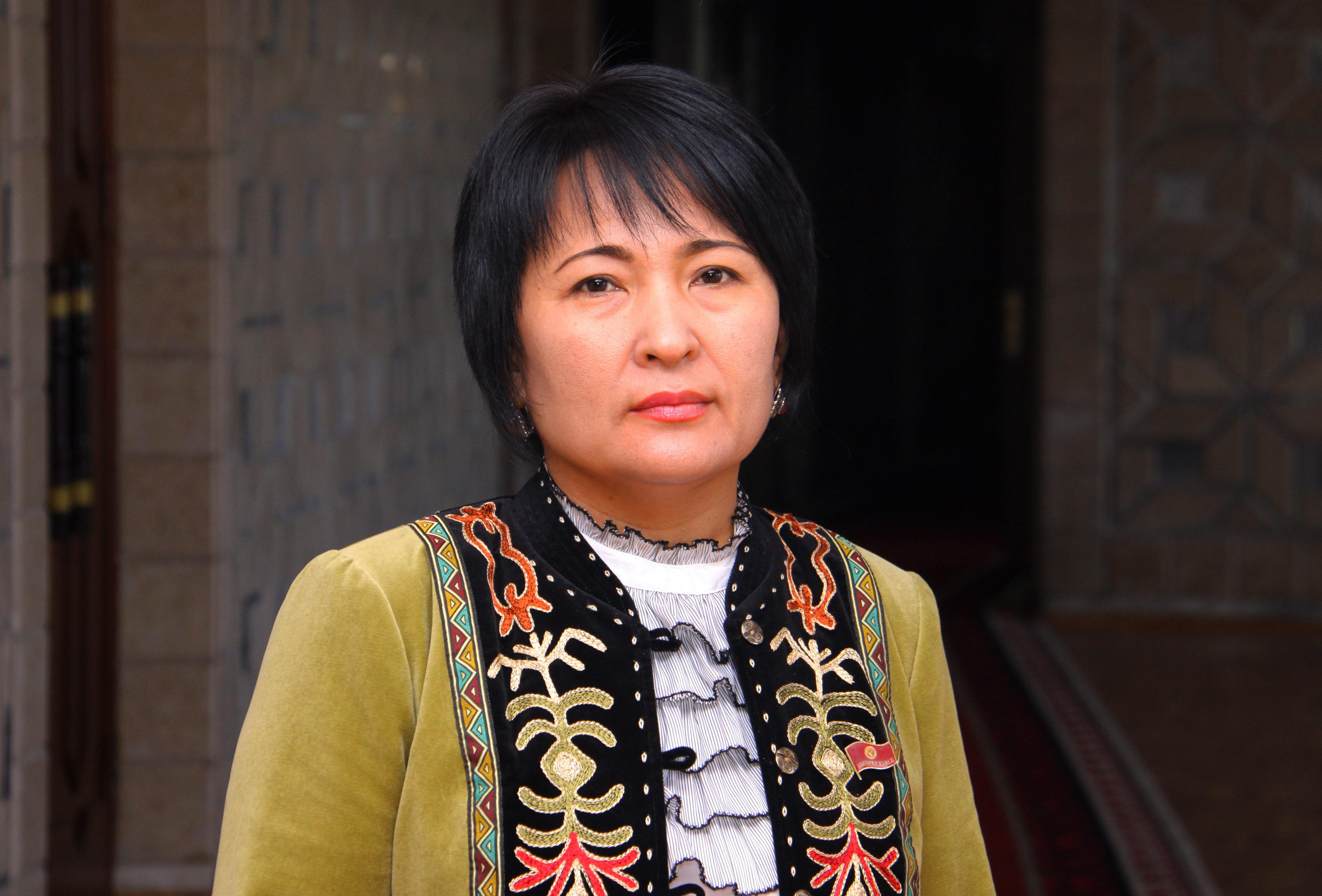 Камила Талиева, бывший министр культуры.