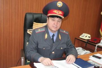 Глава МВД Мелис Турганбаев