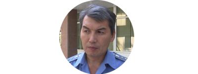 Сотрудник пресс-службы МВД Эрнис Осмонбаев