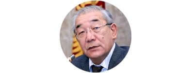 Депутат от фракции «Ата-Журт» Курманбек Осмонов