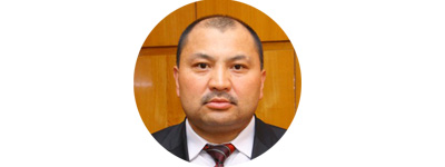Депутат, глава парламентского комитета по ТЭК Кожобек Рыспаев.