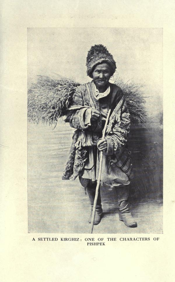 Оседлый кыргыз: один из персонажей Пишпека.