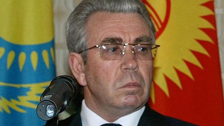 """Николай Танаев, премьер-министр Кыргызстана с 2002 по 2005 год. Соглашение 2003 года часто называют в его честь """"танаевским""""."""