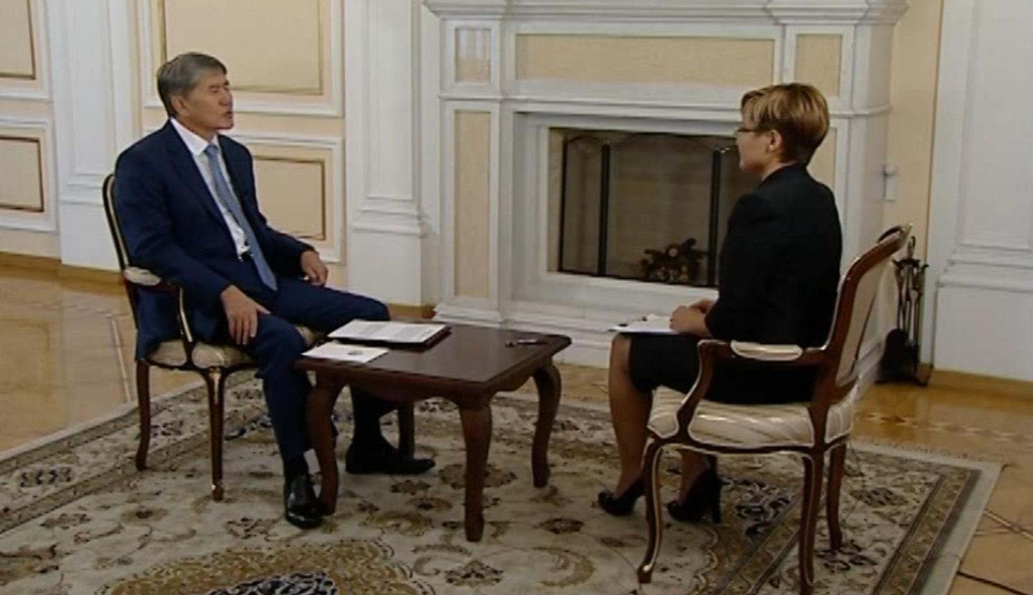Атамбаев интервью