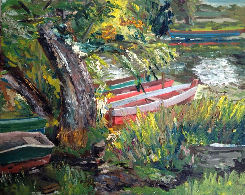 «На реке».