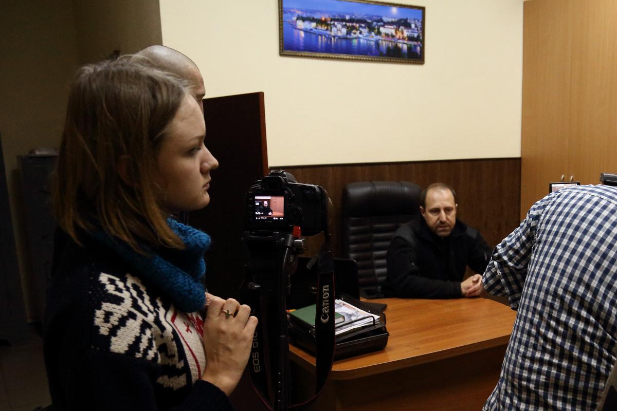 Журналисты беседовали с Ходаковским несколько часов.