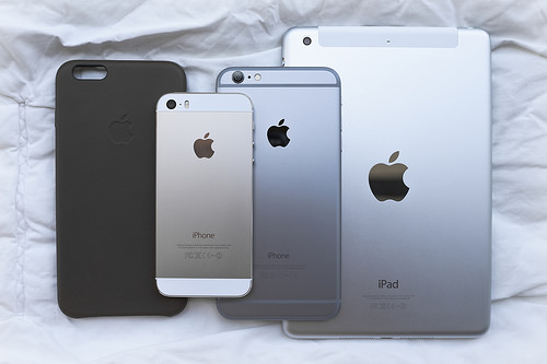 iPhone 5, iPhone 6 Plus и iPad Mini Retina
