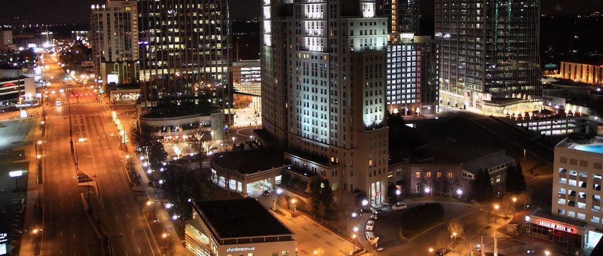 Район в верхней части Атланты, штат Джорджия, США. Фото: David, Flickr.com.