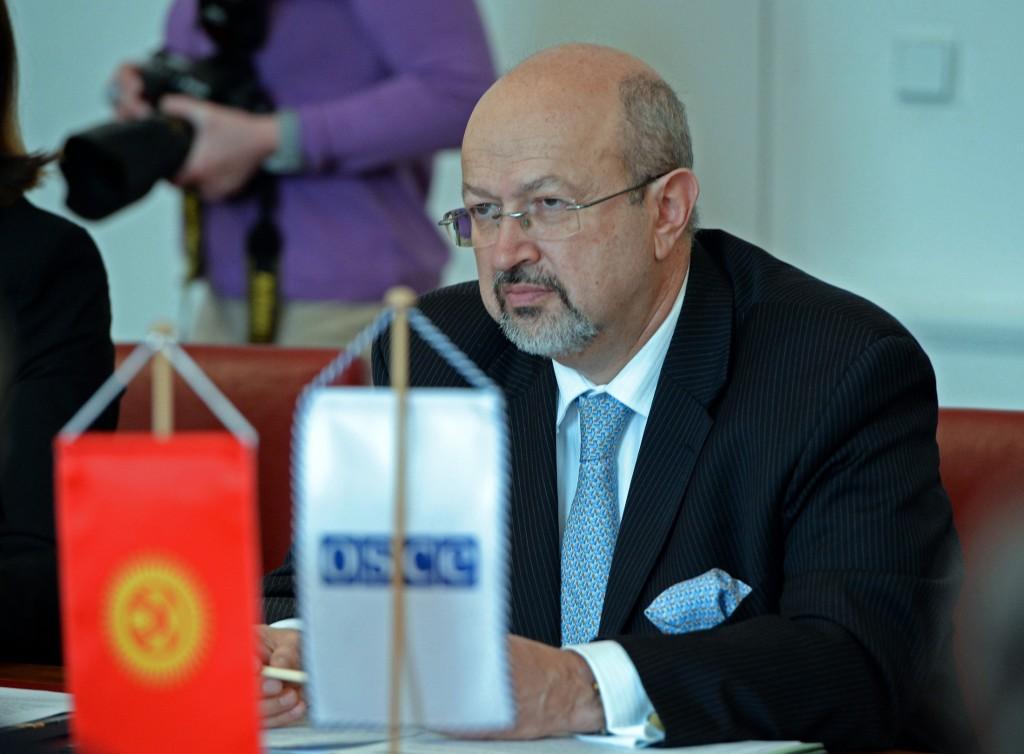 Генеральный секретарь ОБСЕ Ламберто Заньер.