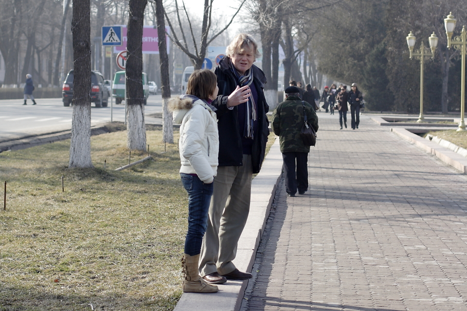 Майкл Доббс и Елена Скочило.