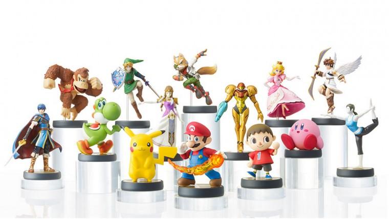 Самые популярные из героев Nintendo: Марио, Пикачу, Йоши, Линк, Фокс, Самус Аран, Принцесса Пич, Кирби и другие