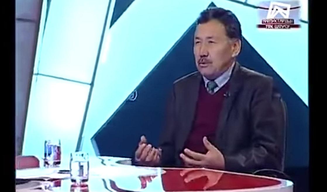 Абдрахман Алымбаев.