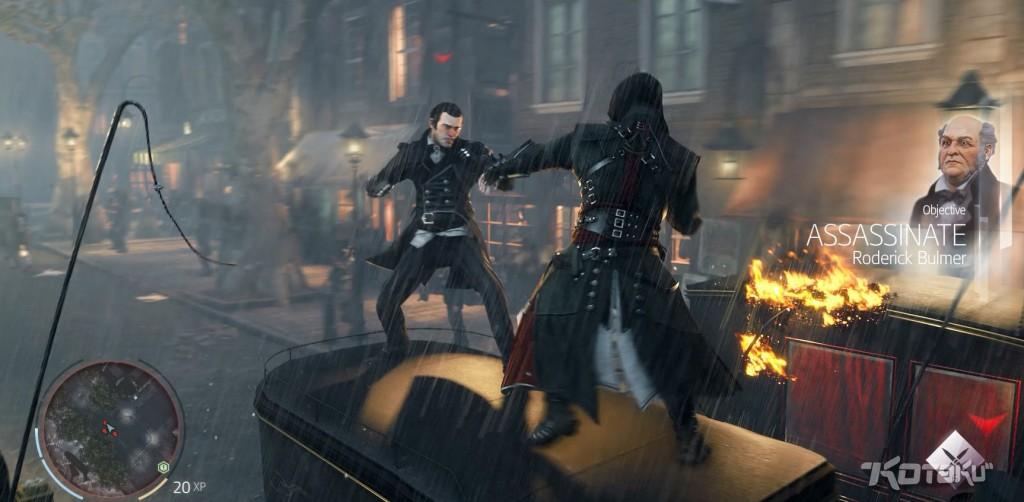 Утёкший в Сеть в декабре прошлого года скриншот Assassin's Creed: Victory