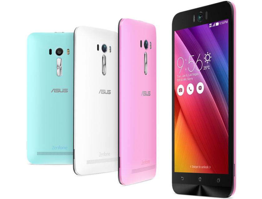 Смартфон ASUS Zenfone Selfie будет представлен в различных цветовых решениях