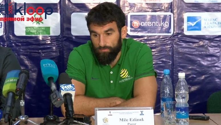 капитан австралийской сборной Майкл Единак