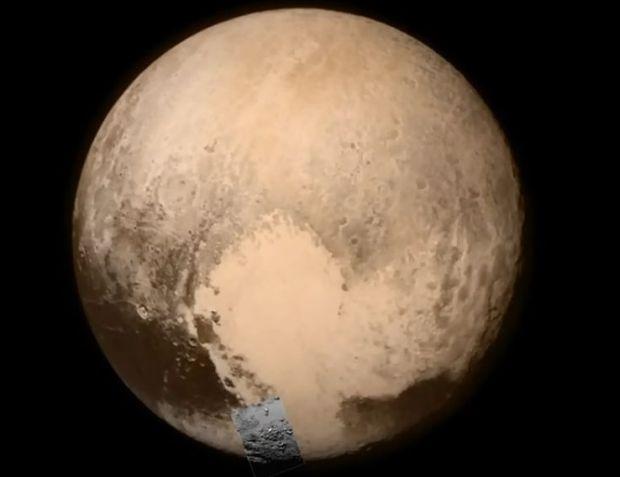 Первый чёткий снимок Плутона