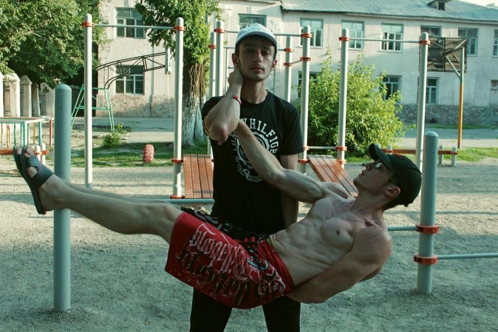 Street workout в Бишкеке