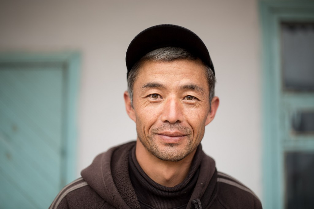 Каракол, Кыргызстан. Абдурахман, представитель дунганского меньшинства
