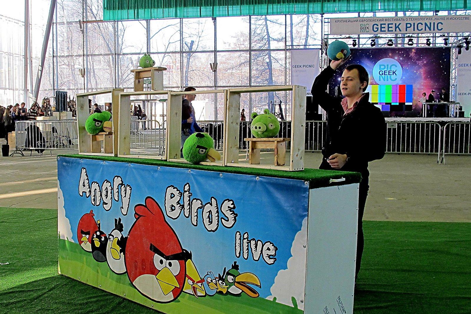 """Игра """"Angry Birds"""" тоже была придумана в Финляндии и тоже внесла немалый вклад в экономику страны, который, благодаря малым размерам, ощущается гораздо сильнее, чем в большой стране. Фото: Александр Красоткин, """"Википедия"""""""