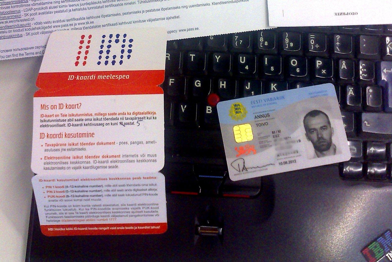 """А ещё с помощью эстонской ID-карточки можно расплачиваться в общественном транспорте, голосовать и даже логиниться в Интернете. Фото: пользователь toivo, """"Фликр""""."""