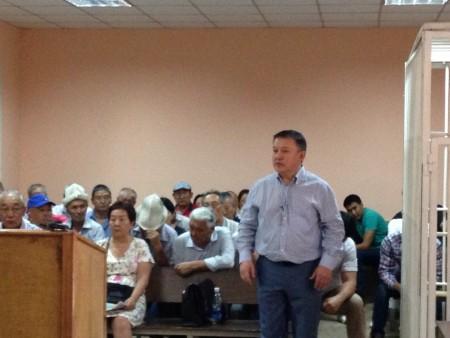 Выступление Келдибекова перед судом