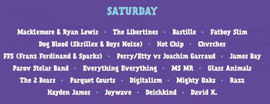 Музыканты первого дня Lollapalooza Berlin 2015