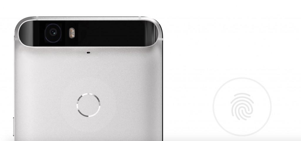 Сканер отпечатков пальцев у Google Nexus 6P
