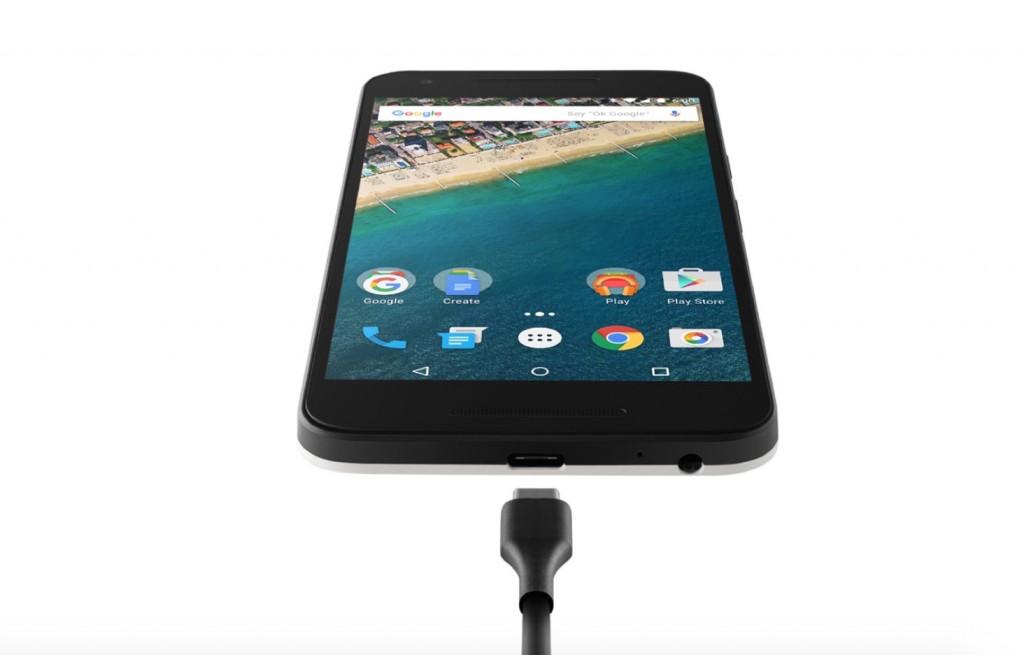 Порт USB Type-C у Nexus 5X