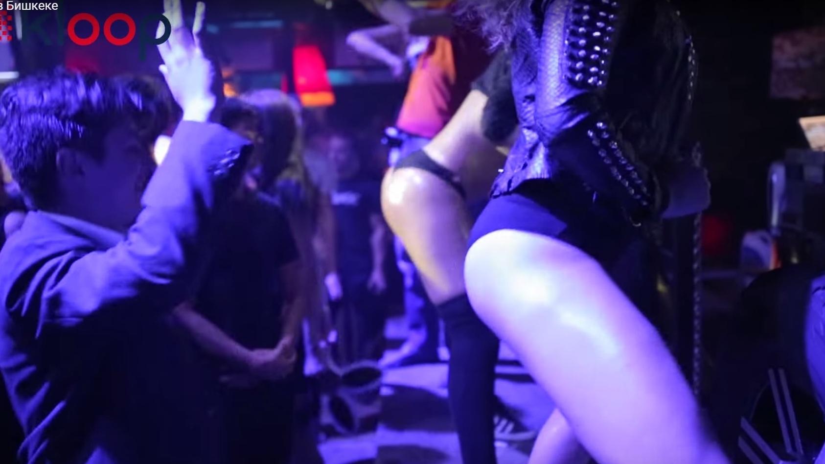 ночное шоу в клубе видео