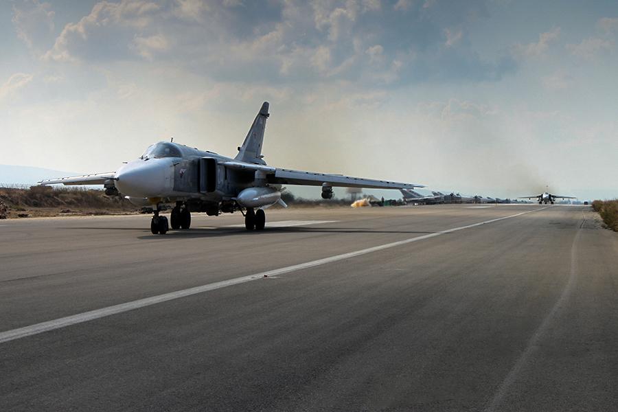 Россия начала наносить авиаудары в Сирии в сентября этого года.