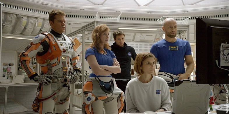 The-Martian-Movie-Jessica-Chastain-Sebastian-Stan-Kate-Mara-Aksel-Hennie