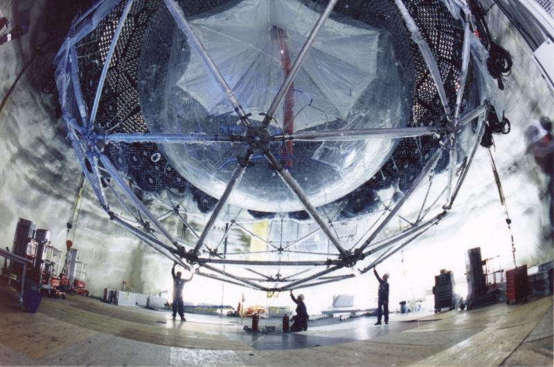 Детектор SNO на противоположном конце планеты, в Канаде