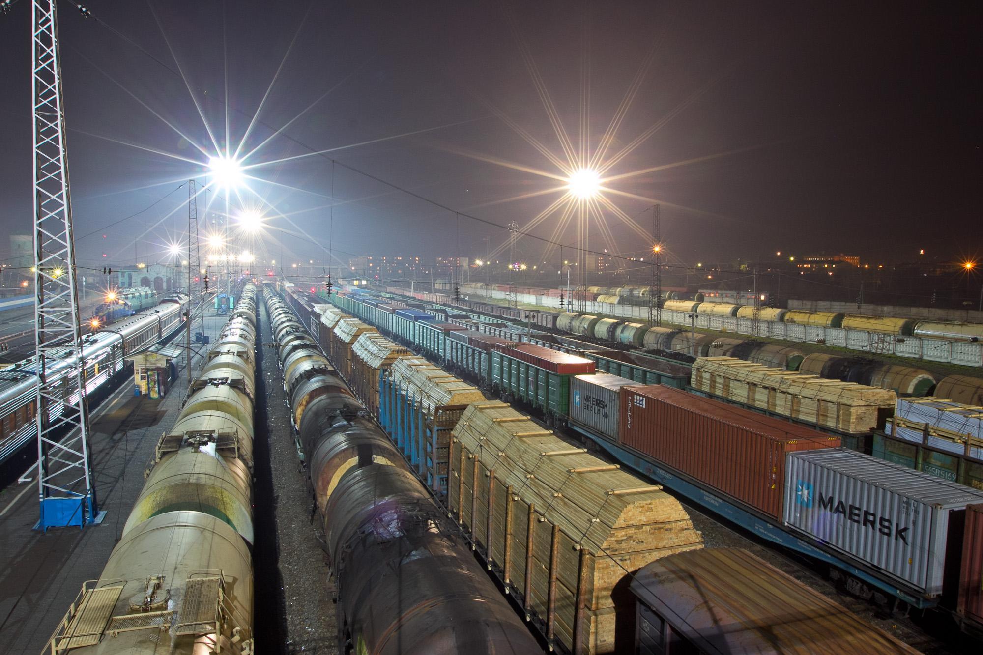 Сухой порт Хоргос, который находится на границе Китая и Казахстана. Фото: портал kazakh-zerno.kz;.