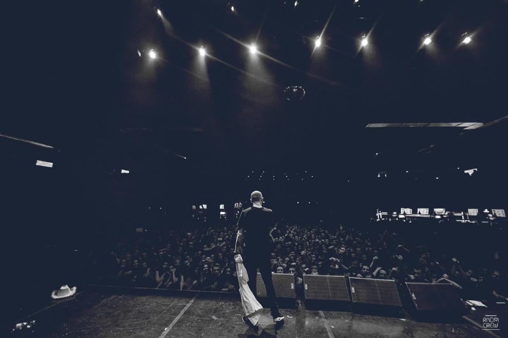 Оксимирон на московской презентации альбома 14 ноября